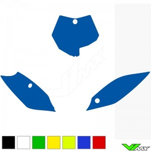 Blackbird Number plate backgrounds clean - KTM 85SX