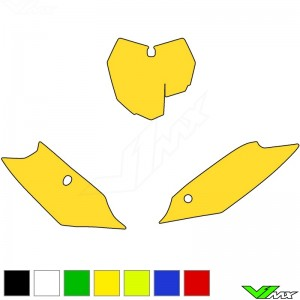 Blackbird Number plate backgrounds clean - KTM 125SX 150SX 250SX 250SX-F 350SX-F 450SX-F