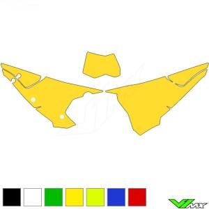 Blackbird Nummerplaat stickers leeg - GasGas EC250 EC300