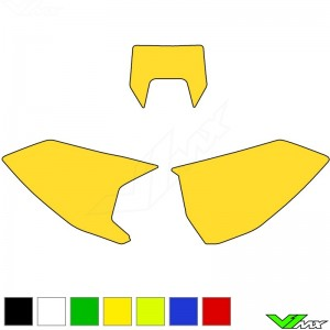 Blackbird Number plate backgrounds clean - Husqvarna FE250 FE350 FE450 FE501 TE150 TE250 TE300