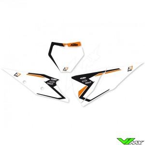 Blackbird Number plate backgrounds - KTM 125SX 150SX 250SX-F 350SX-F 450SX-F