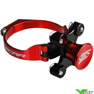 Scar Holeshot Device Red - Kawasaki Suzuki Honda