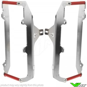 Axp Radiator Guards Red - Honda CRF450R CRF450RX