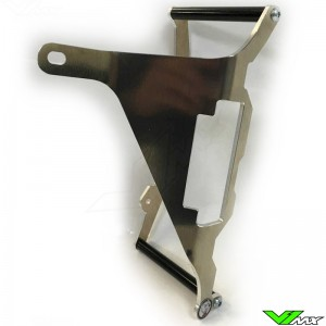 Axp Radiator Guards Black - Kawasaki KXF250