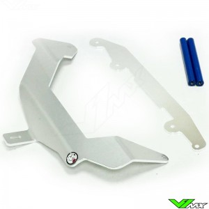 Axp Radiator Guards Blue - Yamaha WR250R