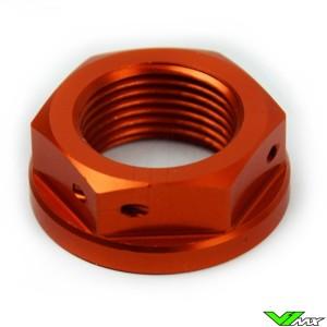 Scar Steering Stem Nut Orange - KTM 50SX 65SX 85SX Husqvarna TC85