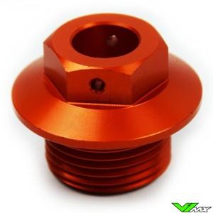 Scar Steering Stem Nut Orange - KTM Husqvarna