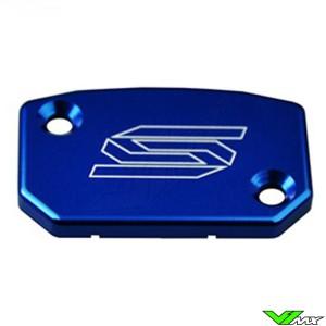 Scar Front Brake/Clutch Cylinder Cover Blue - KTM Husqvarna TM Husaberg Beta Sherco