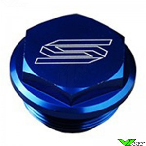 Scar Rear Brake Cylinder Cover Blue - KTM Husqvarna Husaberg Sherco