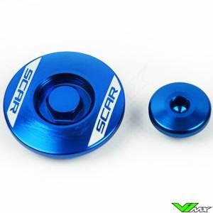 Scar Engine Plugs Blue - Yamaha YZF250 YZF450 WR250F WR450F