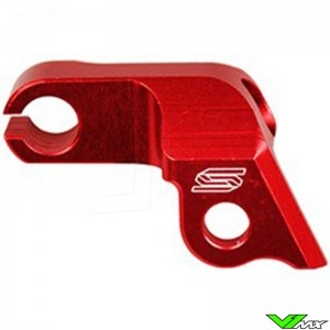 Scar Clutch Cable Guide Red - Honda CRF250R