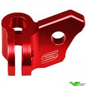 Scar Clutch Cable Guide Red - Suzuki RMZ450
