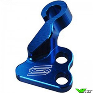 Scar Clutch Cable Guide Blue - Yamaha YZF250 YZF450