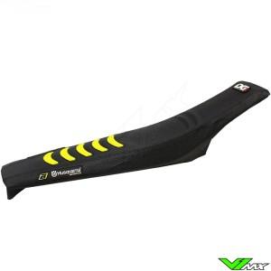 Blackbird Seatcover Black/Yellow - Husqvarna FC250 FC350 FC450 FE250 FE450 FE501 TC125 TC250 TE250 TE300 TX125