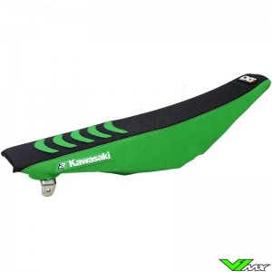 Blackbird Seatcover Black/Green - Kawasaki KXF250 KXF450
