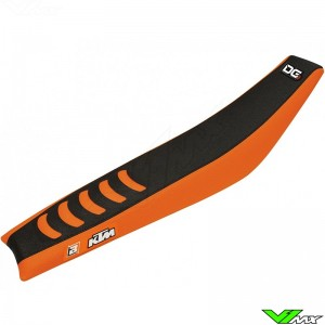 Blackbird Zadelovertrek Zwart/Oranje - KTM 85SX