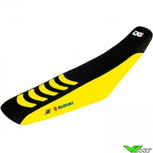 Blackbird Seatcover Black/Yellow - Suzuki RMZ250