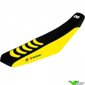 Blackbird Seatcover Black/Yellow - Suzuki RMZ250 RMZ450