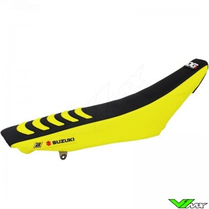 Blackbird Seatcover Black/Yellow - Suzuki RMZ450