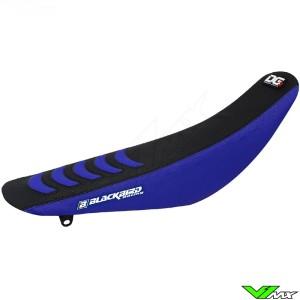Blackbird Zadelovertrek Zwart/Blauw - Yamaha YZF250