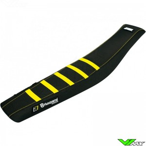 Blackbird Seatcover Black/Yellow - Husqvarna TC85