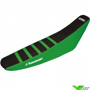 Blackbird Seatcover Black/Green - Kawasaki KXF450