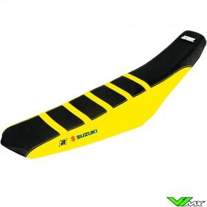Blackbird Zadelovertrek Zwart/Geel - Suzuki RMZ250 RMZ450