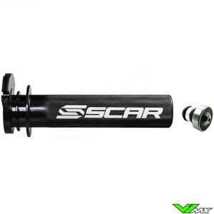 Scar Aluminium Gashendel Gasbuis Gelagerd - KTM 85SX 125SX 150SX 250EXC 300EXC Husqvarna TC85 TC125 TE250 TE300 TX125
