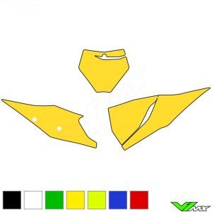 Blackbird Nummerplaat stickers leeg - KTM 125SX 150SX 250SX 250SX-F 350SX-F 450SX-F