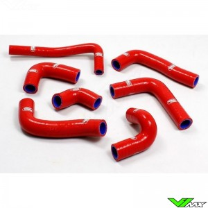 Samco Sport Radiateurslangen Rood - Beta RR350-4T RR390-4T RR430-4T RR480-4T