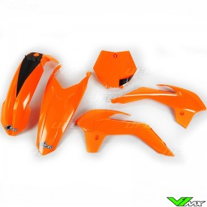 UFO Plastic Kit Fluo Orange - KTM 85SX