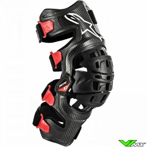 Alpinestars Bionic 10 2019 Knee Brace Right - Black / Red