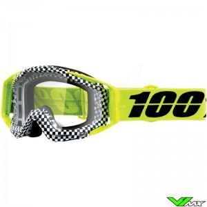100% Racecraft Andre Motocross Goggle - Clear Lens