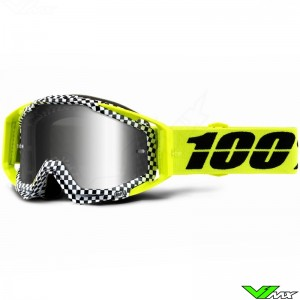 100% Racecraft Andre Motocross Goggle - Mirror Silver