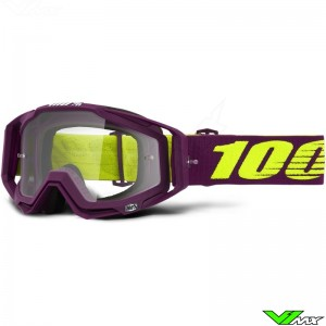 100% Racecraft Klepto Motocross Goggle - Clear Lens