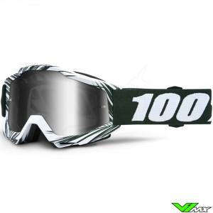 100% Accuri Bali Motocross Goggle - Mirror Silver