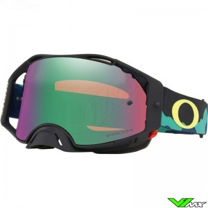 Oakley Airbrake Eli Tomac Camo Army Crossbril - Prizm Jade
