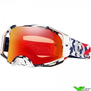 Oakley Airbrake Troy Lee Designs Patriot Motocross Goggle - Prizm Torch
