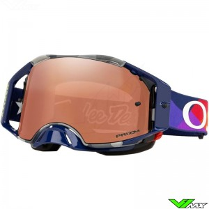 Oakley Airbrake Troy Lee Designs Jet Pattern Crossbril - Prizm Black