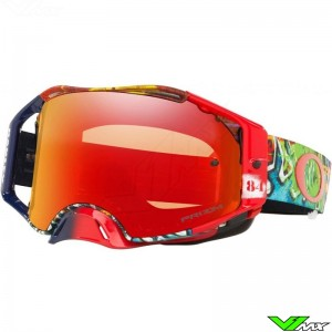 Oakley Airbrake Jeffrey Herlings Graffito Motocross Goggle - Prizm Torch
