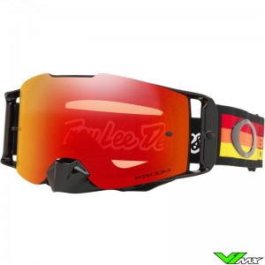 Oakley Frontline Troy Lee Designs Pre-Mix RYO Motocross Goggle - Prizm Torch