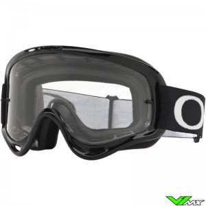 Oakley XS O Frame Motocross Goggle - Jet Black