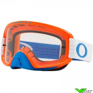 Oakley O Frame 2.0 Motocross Goggle - Blue / Orange