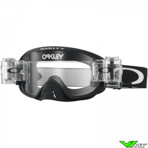 Oakley O Frame 2.0 Motocross Goggle with Roll-off - Matte Black