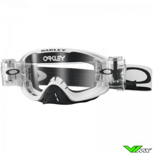 Oakley O Frame 2.0 Motocross Goggle with Roll-off - Matte White