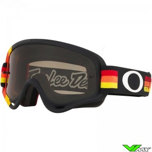 Oakley XS O Frame Crossbril - Troy Lee Designs / Pre-Mix RYO / Donkere Lens