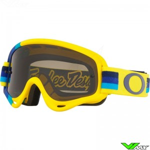 Oakley XS O Frame Crossbril - Troy Lee Designs / Pre-Mix / Geel
