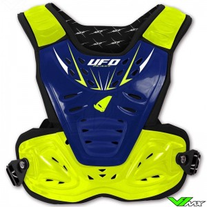 UFO Reactor 2 Bodyprotector - Blue / Yellow