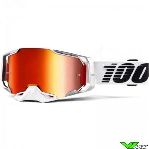 100% Armega Lightsaber Motocross Goggle - Mirror Red