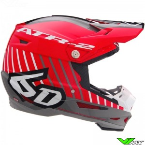 6D ATR-2 Motion Motocross Helmet - Red